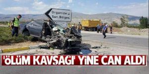 Sürücülerin 'ölüm kavşağı' dediği kavşakta feci kaza: 1 ölü, 3 ağır yaralı