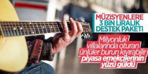 Kültür ve Turizm Bakanlığı'ndan müzik emekçilerine 3 bin lira destek