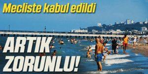 Turizm Teşvik Kanunu kabul edildi
