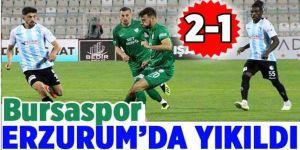 Kritik maçta kazanan Erzurumspor