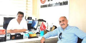 Tanfer'den İHA Bölge Müdürü Ayhan Türkez'e nezaket ziyareti