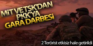 MİT ve TSK'dan PKK'ya Gara darbesi:
