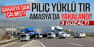 Erzurum'a geliyordu, Amasya'da yakalandı!