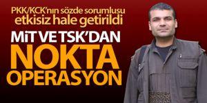 MİT ve TSK'dan terör örgütü PKK'ya nokta operasyon