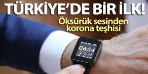 Türkiye'de bir ilk: Öksürük sesinden kişinin korona olup olmadığı anlaşılacak