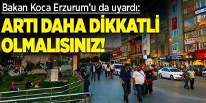Erzurum'da vakalar tavan yapmaya devam ediyor
