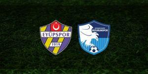 Eyüpspor: 0 - BB Erzurumspor: 1