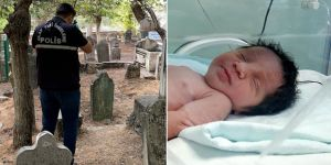 Bebeği diri diri mezara gömen anne ve anneanne tutuklandı
