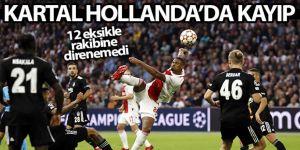 Beşiktaş Hollanda'da kayıp