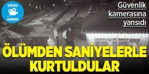 Erzurum'da Ölümden saniyelerle kurtuldular, faciayı mescit önledi
