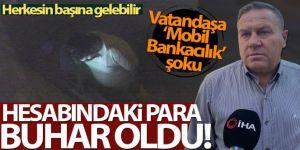 Kadıköy'de 'mobil bankacılık' şoku!