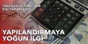 152 milyar 663 milyon lira alacak yapılandırıldı