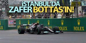 Zafer Mercedes pilotu Valtteri Bottas'ın