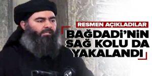 DEAŞ'ın öldürülen eski lideri Bağdadi'nin yardımcısı yakalandı