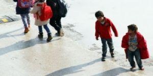 Adana'da yürek yakan görüntü