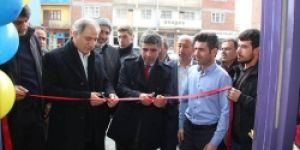 Efkan Ala Oltu'da işyeri açılışına katıldı