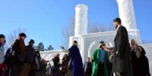 Erzurum Kar Sokakta Tiyatro!