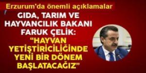 Erzurum'dan şap aşılama seferberliğini başlattı