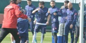 B.B. Erzurumspor'da hırslı antrenman!