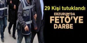 Erzurum'da teröre darbe!