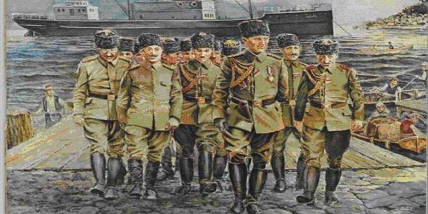 Atatürk 19 Mayıs 1919'da samsun'a böyle çıktı