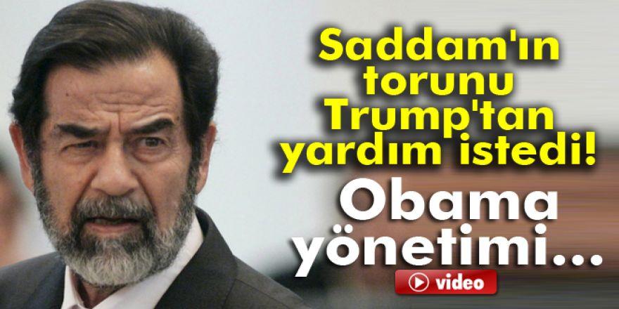 Saddam Hüseyin'in torunundan Trump'a mektup