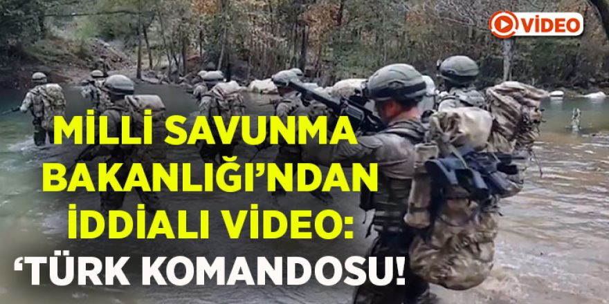 İşte Türk Komandosu