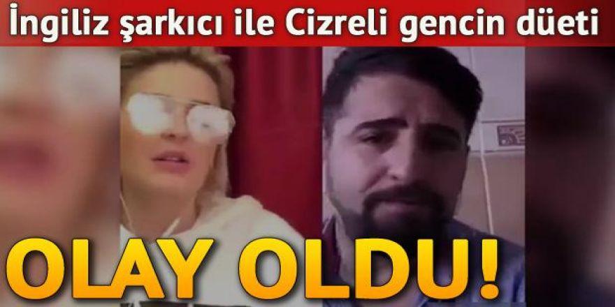 Ünlü İngiliz şarkıcı ile Cizreli Mehmet'in düeti