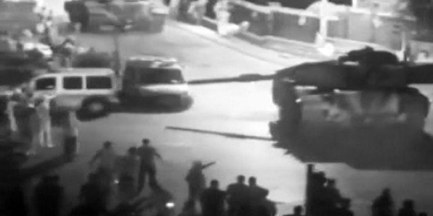 15 Temmuz gecesi Ankara'ya çıkan tankların görüntüleri