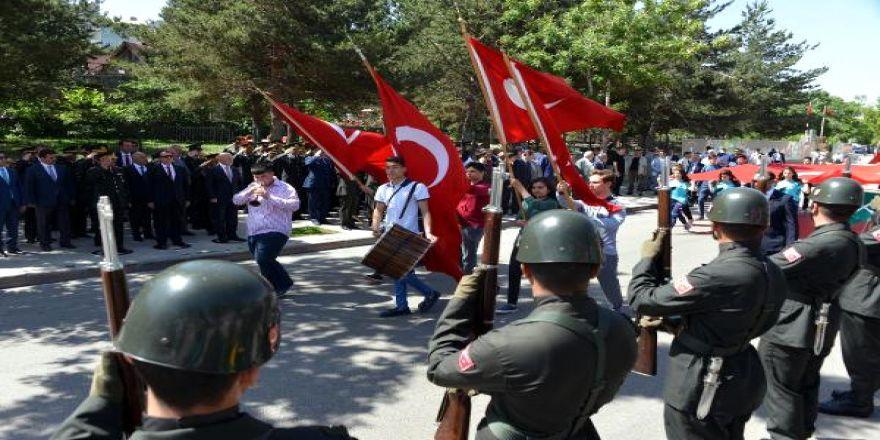 Atatürk'ün Erzurum'a Gelişinin 98'nci Yıl Dönümü Kutlandı
