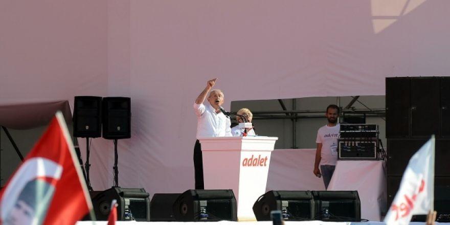 Kılıçdaroğlu: Güvenpark'ta başladığımız yürüyüşü Maltepe'de noktaladık